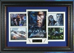 Avatar Cast Signed Home Theater Framed Display