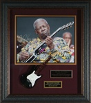 B.B. King Autographed Blues Concert Display