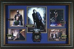 The Dark Knight Cast Autographed Home Theater Display
