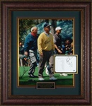The Masters of Golf Autographed Display