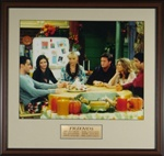 Friends Cast Photograph Framed Display