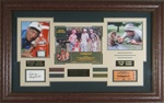 Caddyshack Cast Signed Home Theater Display