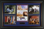 "Hannah Montana ""The Movie"" Cast Signed Home Theater Display"