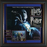Harry Potter and the Order of the Phoenix Cast Autographed Display