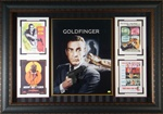 "James Bond ""Goldfinger"" Sean Connery Autographed Display"