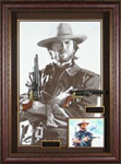 The Outlaw Josey Wales - Clint Eastwood Autographed Display