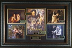 "Lord of the Rings ""The Return of the King"" Cast Signed Home Theater Display"