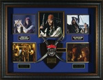 Johnny Depp – Pirates of the Caribbean Autographed Display