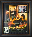 Pulp Fiction Cast Autographed Home Theater Display