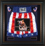 Rocky IV Sylvester Stallone Autographed Home Theater Display