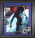 Superman Returns Cast Autographed Home Theater Display