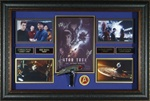 "Star Trek ""The Future Begins"" Cast Signed Home Theater Display"