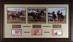 Triple Crown Champions – Jockey Autographed Display