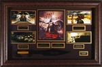 300 Cast Autographed Home Theater Display