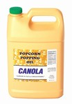 Canola Popcorn Poping Oil - Gallon