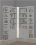 Boca Inside Filler Corner in Cottage White Finish by Parker House - BOC-456