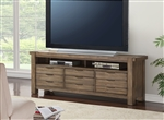 Brighton 76 Inch TV Console in Antique Vintage Muslin Finish by Parker House - BRI-76