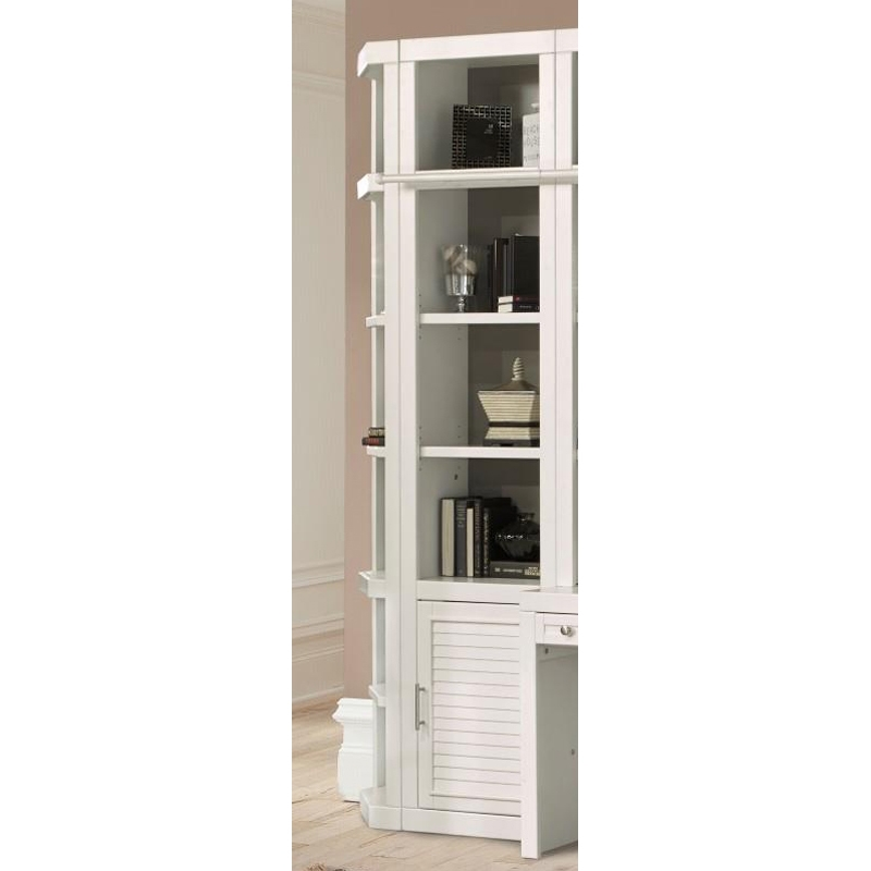 Catalina 22 Inch Open Top Bookcase In Cottage White Finish