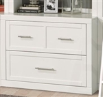 Catalina 40 Inch Lateral File in Cottage White Finish by Parker House - CAT-476F