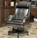Prestige Office Chair in Smoke Two Tone Leather by Parker House DC-105-SM