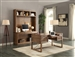 Hickory Creek 3 Piece Home Office Set in Vintage Honey Finish by Parker House - HIC-3-SET