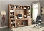Hickory Creek 6 Piece Home Office Wall in Vintage Honey Finish by Parker House - HIC-6-SET