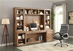 Hickory Creek 6 Piece Home Office Wall in Vintage Honey Finish by Parker House - HIC-6-SET02
