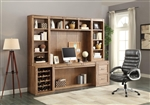 Hickory Creek 6 Piece Home Office Wall in Vintage Honey Finish by Parker House - HIC-6-SET1