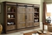 Hunts Point 4 Piece Sliding Door Entertainment Wall in Weathered Pine Finish by Parker House - HPT-1063-4