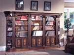 Huntington 5 Piece Bookcase Wall in Chestnut Finish by Parker House - HUN-430-5
