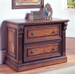 Huntington 2 Drawer Lateral File in Chestnut Finish by Parker House - HUN-475