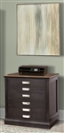 Lincoln Park Lateral File in Vintage Ash Finish by Parker House - LIN-475