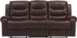 Brahms Dual Reclining Sofa in Cowboy Color Cover by Parker House - MBRA-832-CW
