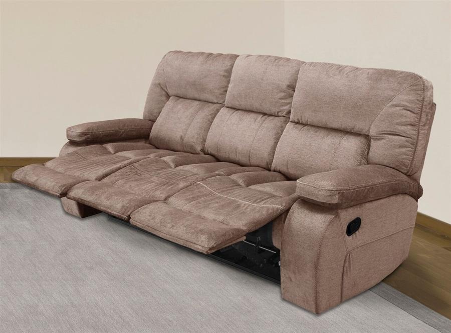 chapman manual triple reclining sofa in kona fabric by parker house rh homecinemacenter com triple recliner sofa cover catnapper triple reclining sofa