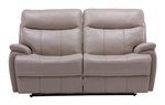 Dylan Creme Dual Power Reclining Loveseat by Parker House - MDYL-822P-CRE