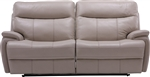 Dylan Creme Dual Power Reclining Sofa by Parker House - MDYL-832P-CRE