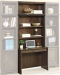 Meridien 2 Piece Library Desk in Burnished Dark Ash Finish by Parker House - MER-460-2