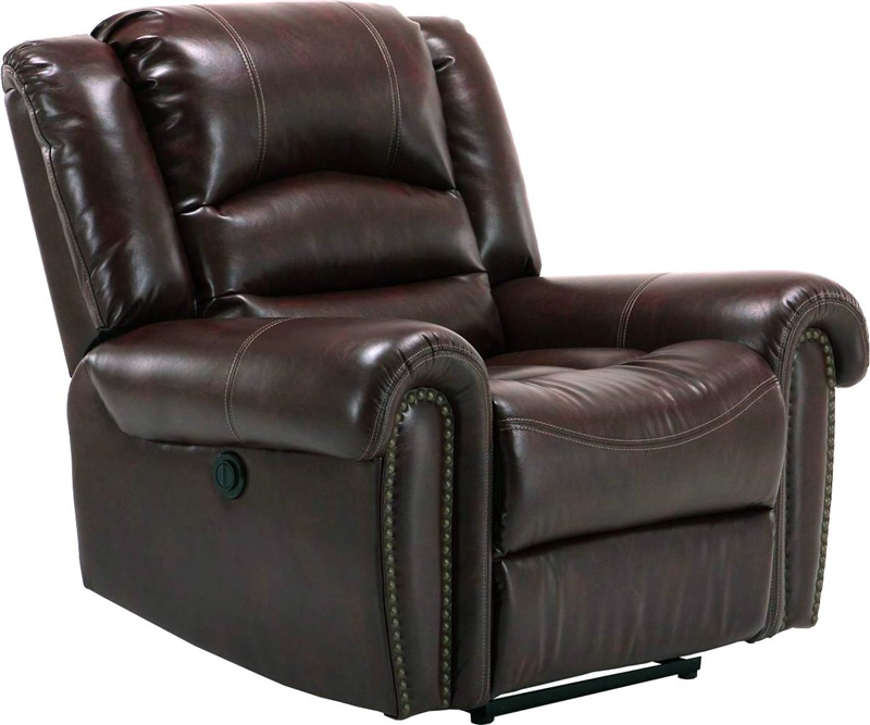 Gershwin Power Dual Reclining Sofa in Java Cover by Parker