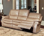 Juno Power Reclining Sofa in Sand Synthetic Leather by Parker House - MJUN-832P-SA