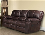 Jupiter Dual Reclining Sofa in Russet Synthetic Leather by Parker House - MJUP-832-RUS