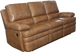 Meyer Power Dual Reclining Sofa in Saddle Leather by Parker House - MMEY-832P-SD