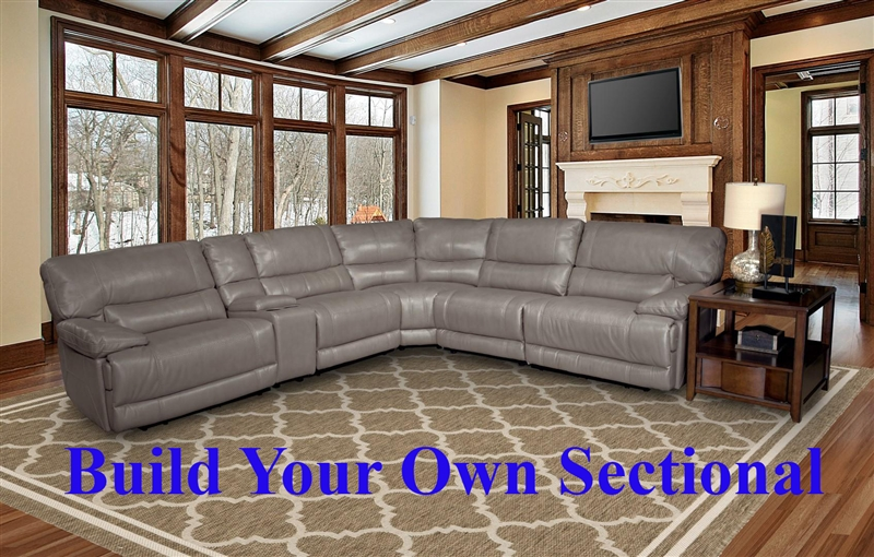 Pegasus Build Your Own Sectional In Sahara Fabric By