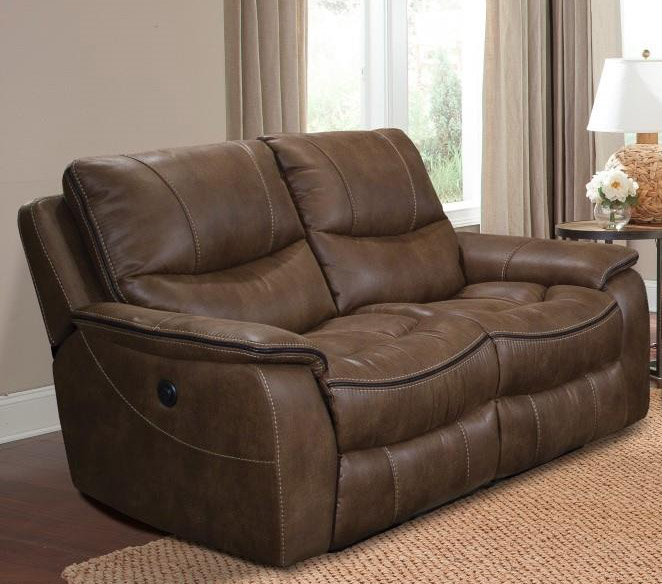 Remus Power Dual Reclining Loveseat In Stone Color Cover By Parker House Mrem 822p St