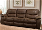 Remus Power Dual Reclining Sofa in Stone Color Cover by Parker House - MREM-832P-ST