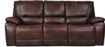 Vail Power Dual Reclining Sofa with Power Headrests and USB Port in Burnt Sienna Leather by Parker House - MVAI-832PH-BUR