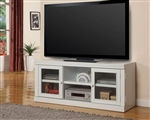 Alpine 57-Inch TV Console in Cottage White Finish by Parker House - PAL-150