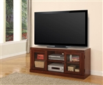 Andrews 57-Inch TV Console in Traditional Cherry Finish by Parker House - PAN-150