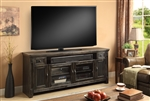 Ridgecrest 72 Inch TV Console in Antique Vintage Charcoal Finish by Parker House - RID-72