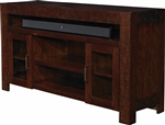 Roanoke 55 Inch TV Console in Hickory Finish by Parker House - ROA-55