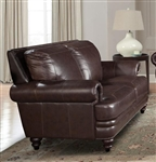 Hunter Loveseat in Sienna Leather by Parker House - SHUN-922-SI